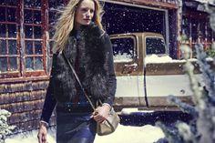 Tommy Hilfiger Black Winter Coat
