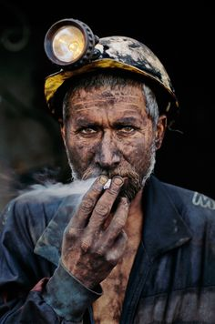 Coal Miner    - Steve McCurry