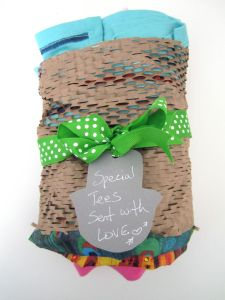 GreenWrap - earth friendly gift wrap for the win