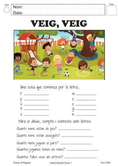 Vocabulari ficha interactiva y descargable. Puedes hacer los ejercicios online o descargar la ficha como pdf. Catalan Language, Spanish Lessons For Kids, Seesaw, Body Systems, Baby Play, I School, Valencia, Homework, Vocabulary