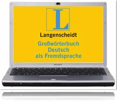 Langenscheidt Großwörterbuch Deutsch als Fremdsprache für PC-PC-Software zum Download