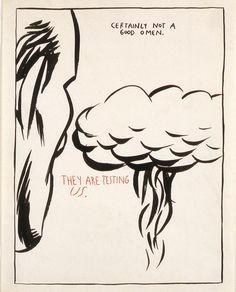 Raymond Pettibon » No Title (Certainly not a...)David Zwirner