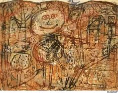 The Blue Bird - Jean Dubuffet