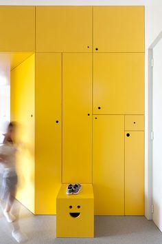 Yellow hall