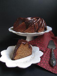 chocolate spice chestnut bundt