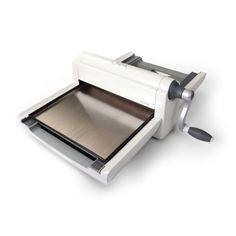 Máquina Sizzix Big Shot Pro Solamente Blanco Y Gris Con Accesorios Estándar…