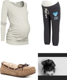 """Lazy day being pregnant with the baby daddy(Harry Styles)"" by destiny-gracey ❤ liked on Polyvore"