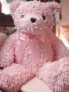 :) Every girl needs a teddy bear and Pink is extra cute ! Perfect Pink, Pink Love, Pale Pink, Pretty In Pink, Pink Purple, Pink Peacock, Pink Girl, I Believe In Pink, Color Rosa