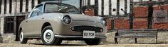Nissan Figaro - I'm not a Nissan fan, but I think this is a gorgeous piece of retro styling