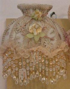 beige lace decoration | Creamy beige/sage Nightlight-pretty lace nightlights,bedroom decor ...