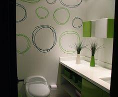 Decoración con colores y tonalidades verdes http://blgs.co/t41Cv3