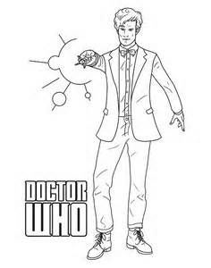 Dr Who Coloring Pages