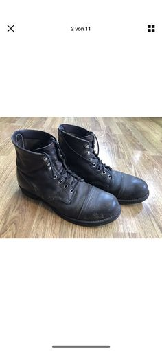 Red Wing Iron Ranger, Men Dress, Dress Shoes, Moccasins, Oxford Shoes, Lace Up, Flats, Fashion, Penny Loafers