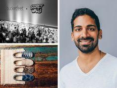 Raaja Nemani, CEO of Bucketfeet