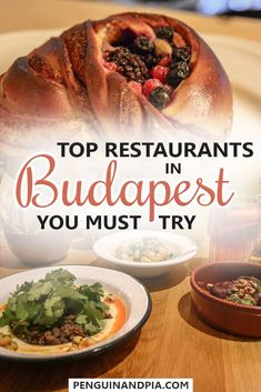 Our Foodie Friend Jess shares some of the best restaurants in Budapest, Hungary with you. Get ready for delicious food for breakfast, lunch, dinner and dessert! Click through to find about hidden gems and old favorite Budapest food spots! #budapest #hungary #foodguide #breakfast #lunch #dinner #dessert