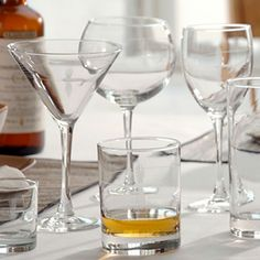 Fly Fishing Glassware from Thos. Baker.