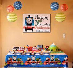 Thomas the Train Birthday Party Ideas | Photo 2 of 48