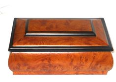 wooden+Jewelry+Box+Brown+with+Black+Trim+Father's+Day+USA+Seller+#Unbranded http://stores.ebay.com/JEWELRY-AND-GIFTS-BY-ALICE-AND-ANN