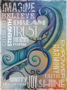 Inspirational Wordart! | Reina Cottier Art