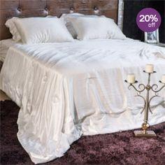 Summer Silk-Covered Silk-Filled Duvet