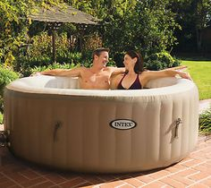Intex Pure Spa 4-Person Inflatable Portable Heated Bubble Hot Tub | 28403E  $379.99  $699.99  (6 Available) End Date: Apr 272016 07:59 AM GMT-07:00