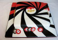 James Bond 007 Cake - James Bond 007 Casino Cake