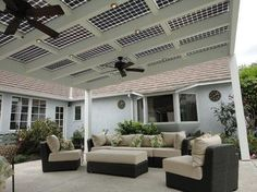 PHATPORT  Solar Panel Patio Cover.