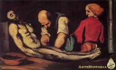 CEZANNE. La autopsia. 1869.