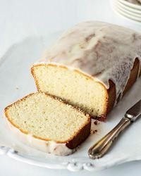Lemon-Glazed Citrus-Yogurt Pound Cake Recipe from Food & Wine
