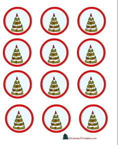 christmas-cup-cake-toppers-3.png 612×756 pixels