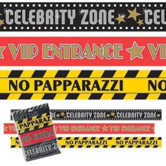 Hollywood Party Tape Rolls from Windy City Novelties