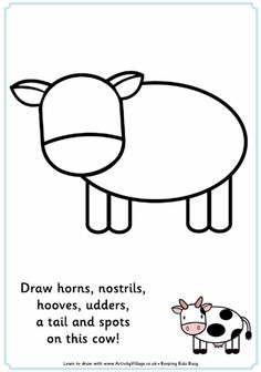 Here's a fun cow jigsaw for kids - just print, cut out using one of our guides…