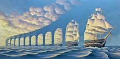 The beautiful and mind-bending illusions in Canadian artist Robert Gonsalves
