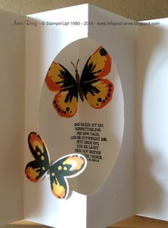 Watercolor Wings - die Schmetterlinge sind los...