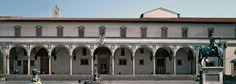 Brunelleschi, Ospedale degli innocenti, Firenze, 1419.