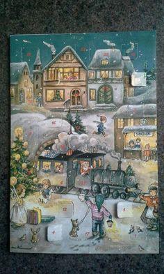 German Christmas Advent calendar