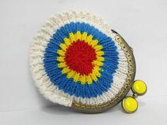 Monedero crochet hecho a mano. por NagoreGaramendi en Etsy