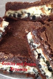 ~My Recipe Book~: Cookies and Cream Brownies