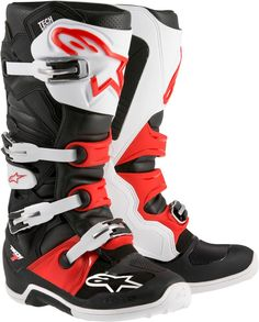 Alpinestars Tech 7 2015 Boot Replacement Soles White//Black