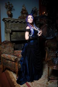 """Alissa White-Gluz of """"The Agonist"""", my favourite female singer in metal."""