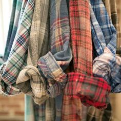 Vintage Mystery Hipster Flannel Shirts