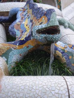Antoni Gaudi garden, Barcelona