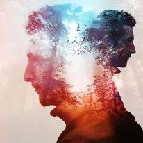 #photo #portrait #photography #cool #colors - Multiple Exposures