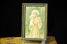 Nice Antique Religious Picture Gold Picture by SouthernSisAntiques