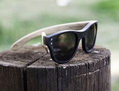 40654bf7ec Anteojo de madera y acetato, lentes de sol   Nomade Anteojos De Sol, Lentes