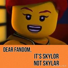 I don't know why but this bugs me so much! SkyLOR not SkyLAR