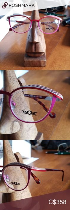 Shop Women's Boz Red Pink size Glasses at a discounted price at Poshmark. Red And Pink, Eyeglasses, Eyewear, Women Accessories, Shop My, France, Closet, Things To Sell, Armoire