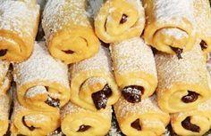 Cornulețe cu GEM și NUCĂ – un deliciu de post Doughnut, Ale, Biscuits, Veggies, Breakfast, Desserts, Food, Pastries, Bakken