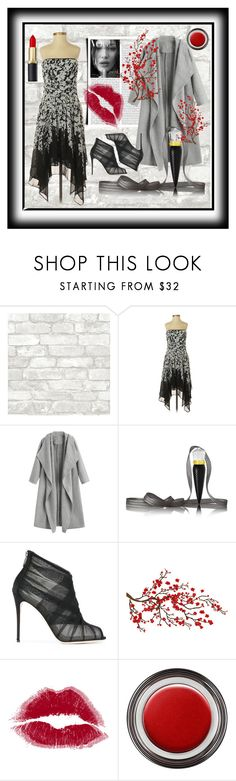 """Untitled #167"" by cigoehring ❤ liked on Polyvore featuring White House Black Market, Christian Louboutin, Dolce&Gabbana, Brewster Home Fashions and John Lewis"
