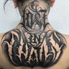 LOST IN CHAOS gothic lettering tattoo Source tattoo designs, tattoo, small tattoo, meaningful Gothic Lettering, Chicano Lettering, Graffiti Lettering, Chaos Tattoo, Head Tattoos, Body Art Tattoos, Sleeve Tattoos, Arrow Tattoo, Tattoo Script
